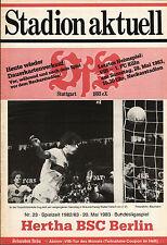 BL 82/83 VfB Stuttgart - Hertha BSC, 20.05.1983
