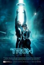 Tron Legacy Movie Poster 2 Sided Original Final 27x40 Jeff Bridges