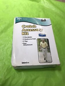 Medline Crutch Accessory Kit Universal Fit MDS80269 New Open box 1-3 Day Deliver