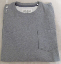 Eddie Bauer Long Sleeve Pocket Crew Neck Shirt Gray or Red NWT Various Sizes
