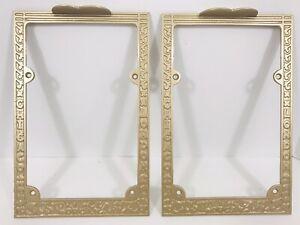1900s Antique restored Story & Clark Piano Organ Gold Pedal Parts Art Deco