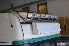 Para adaptarse a Scania Serie P G R 6 Barra de Luz de Techo de Acero 09+ Topline + LED al ras x7