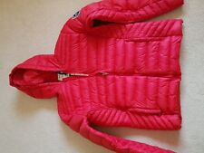 MENS BNWT SOUL CAL RED HOODED PUFFER JACKET SIZE XXL