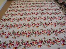 Nice Bright Multi-Color Printed Flower Pattern Quilt
