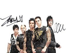 Avenged Sevenfold A7X signed 8X10 photo picture poster autograph RP