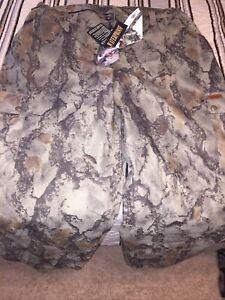 Vintage Woolrich Natural Gear Natural Camouflage Pants Waterproof Unused W/ Tags