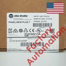 2019 Us Stock Allen-Bradley PanelView Plus 7 Graphic Terminal 2711P-B10C22D9P