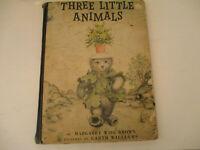 Three Little Animals Vintage Children Book Margaret Wise Brown Garth Williams 56