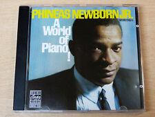 Phineas Newborn.JR/A World Of Piano!/1991 CD Album