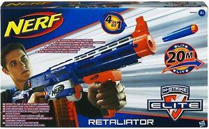 NERF N-Strike Elite Retaliator - NEU &  SELTEN in OVP - Fortnite Blau