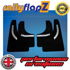 rallyflapZ FORD MONDEO MK4 (07-14) Mud Flaps Rally Style Mudflaps Black 4mm PVC