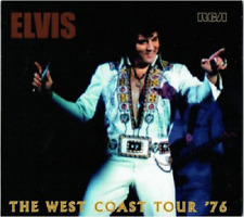 ELVIS PRESLEY - FTD CD  -  THE WEST COAST TOUR '76  -  FTD CD
