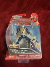 "Power Rangers Super Megaforce - 5"" Samurai Gold Ranger Action Hero"