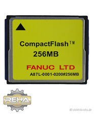 Fanuc A87L-0001-0200 Compact Flash 256MB LTD A87L 0001 0200