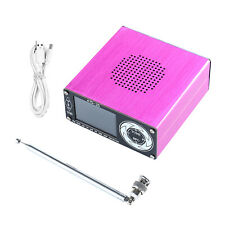 All Band Radio Receiver 2.4in Support Broadcast Search Portable Radio