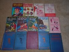 VINTAGE BOOK COLLECTION LOT YOUNG ADULT + KIDS BOOKS HARDY BOYS 50 FAIRY TALES