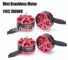 4x 1103 7800kv Mini Brushless Motor for RC 80 90 100 120mm Mini Multirotor Drone