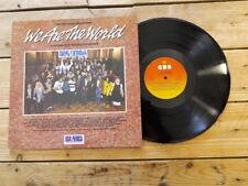 WE ARE THE WORLD LP 33T VINYLE EX COVER EX ORIGINAL 1985 GATEFOLD