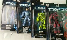 Neca Set Of 4 Tron 2.0 Action Figures