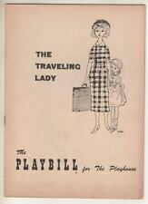 """""""The Traveling Lady""""  Playbill  1954  OPENING NIGHT  Kim Stanley, Jack Lord"""