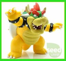 8cm Super Mario Bros Bowser KING KOOPA PVC Action Figure Toys Kid's Gift New