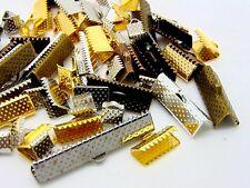 Al azar Mezclado Color y tamaño de la cinta termina joyería encontrar plata oro plateado Ml