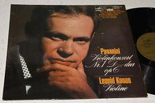 Leonid Kogan Paganini Violin Concerto Nebolsin German Stereo ED1 NM