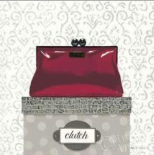 Marco Fabiano: Tres Chic Square III Fertig-Bild 30x30 Wandbild Mode Schuhe Heels