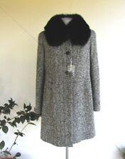 MAX MARA cappotto con collo in volpe/ coat with neck in fox  New!  46 IT
