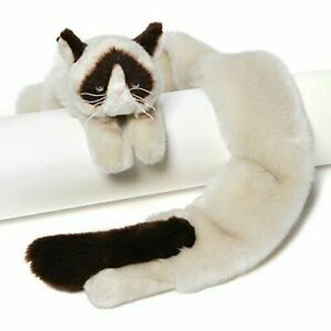 Gund 54 inch Extra Soft and Silky Grumpy Cat Plush Stuffed Animal Novelty Scarf