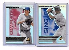 2013 Pinnacle Clear Vision lot (2) Adam Jones & Clayton Kershaw