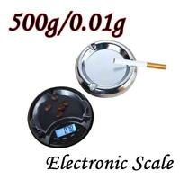 500g/0.01g Electronic Digital LCD Display Scale Portable Pocket Jewelry Scale