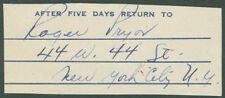 Roger Pryor - Autograph Fragment Signed