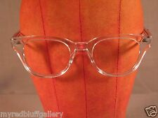 New Vintage Pathway Challenger Clear Eyeglasses Frames Size 50 22 145