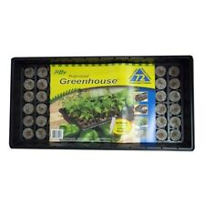 Seed Starter Kit Tray Peat Pellets Greenhouse Dome Plant Labels Flower Vegetable