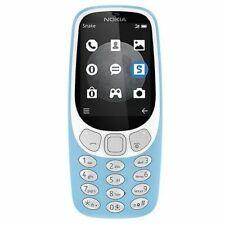 Nokia 3310 2017 Azure Blue (Unlocked) Cellular Phone (2G Dual SIM) Mobile Phone