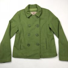 Abercrombie & Fitch Women's Vintage Peacoat Green Wool • Large