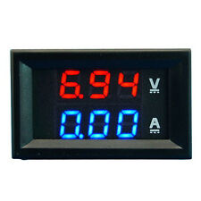 100V Voltmeter 10A Ammeter Led Digital Volt Meter Gauge Amp Dual Voltage Power