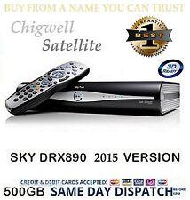 SKY PLUS + HD BOX 500GB BOX ONLY - 1 YR WARRANTY