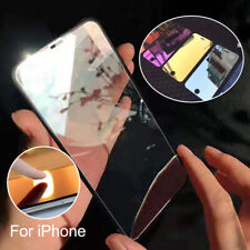 Colorful Tempered Glass Mirror Shockproof Protective Screen Film For iPhone 7/8