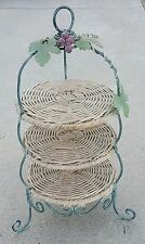 VINTAGE 3 TIER CAKE STAND - Made in Italy - VERY NICE CONDITION