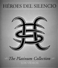 HEROES DEL SILENCIO THE PLATINUM COLLECTION LOS VIDEOS 2 DVDS DONCHOLLO