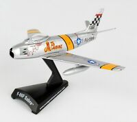 Daron Postage Stamp Fighter Jet F-86F Sabre Mig Mad Marine 1/110 Diecast Model