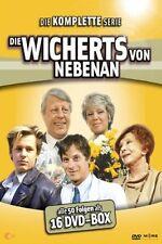 Gesamtbox DIE WICHERTS VON NEBENAN komplette TV-Serie MARIA SEBALDT 16 DVD Box