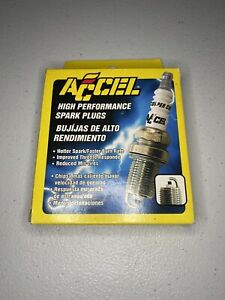 Accel 0276S-4 Shorty Spark Plug, 5/8 Hex, .460 Reach Tapered 4/Pk