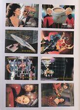 Lot of 8 assorted Star Trek trading cards pub.1992 Impel