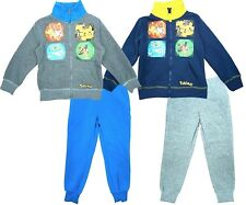 Kids Boys POKEMON HEROS Character Hooded Tracksuit Outfit & Set,4 5 6 8 10 12YRS