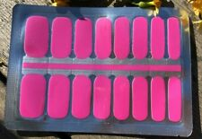 Solid Color ~ Nail Polish Strips-Nail Art Stickers - Manicure Pedicure Wraps ~Us