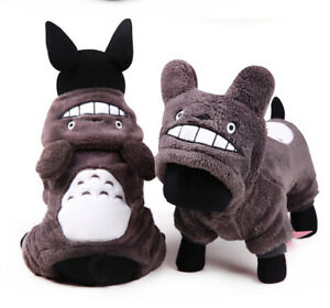 Pet Small Dog Hoodie Costume Puppy Cat Winter Warm Hooded Cute Funny Jacket Coat
