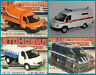1:43 GAZ 3302 2705 32214 Tanker Koffer Bus russian USSR UdSSR Russland